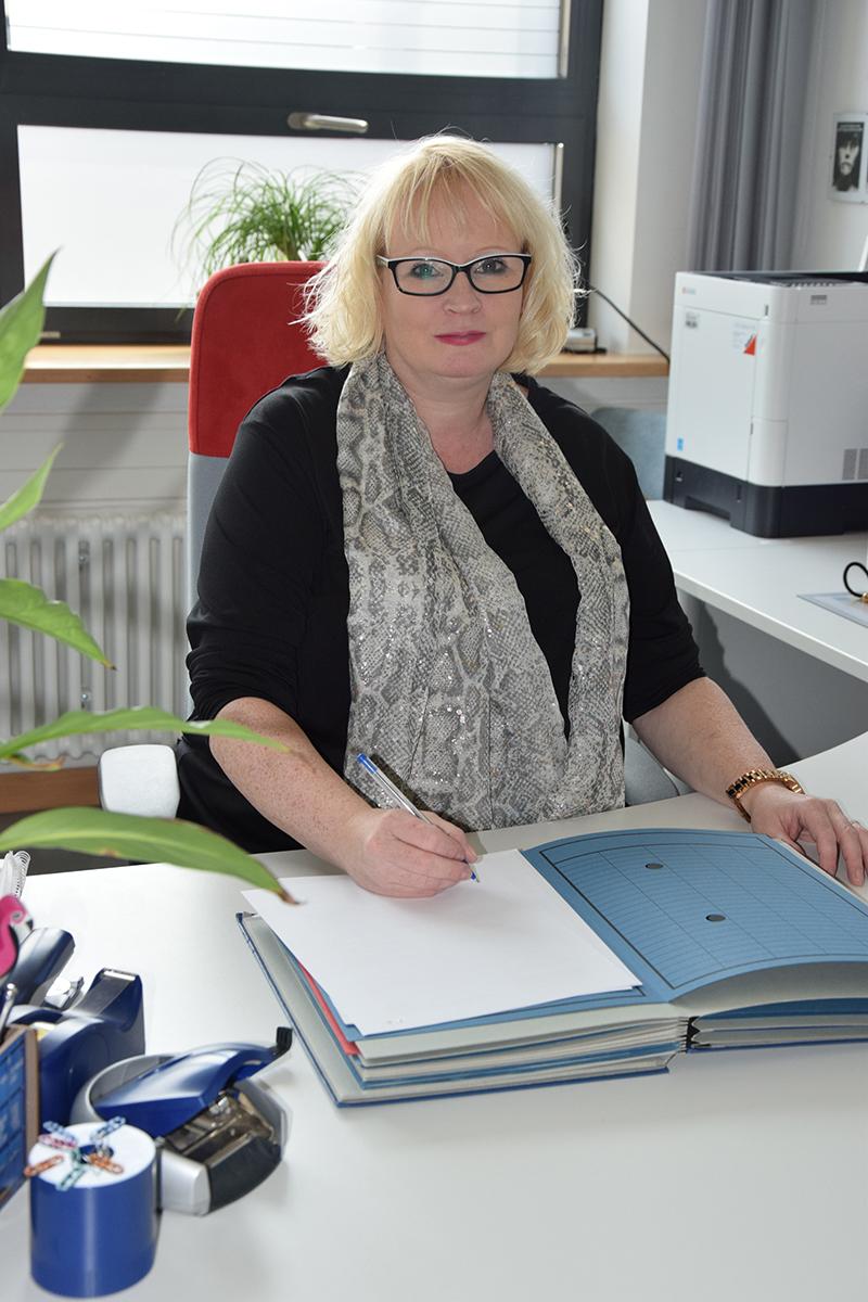Schulleitung Stephanie Dekker