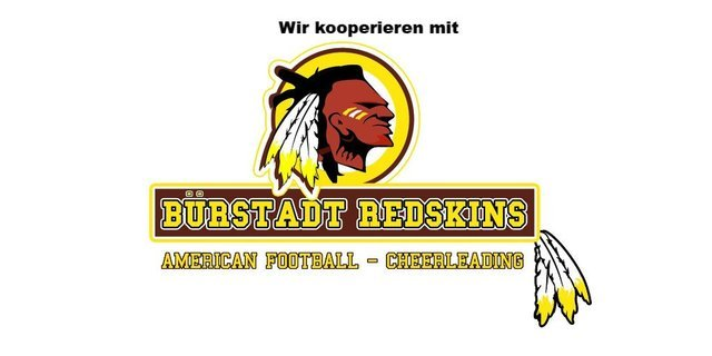 Kooperation – Bürstadt Redskins
